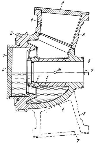 Способ нанесения шликера металлокерамического покрытия на внутреннюю поверхность статора турбины