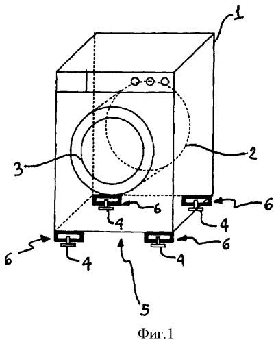 Устройство для обработки белья со средством измерения веса