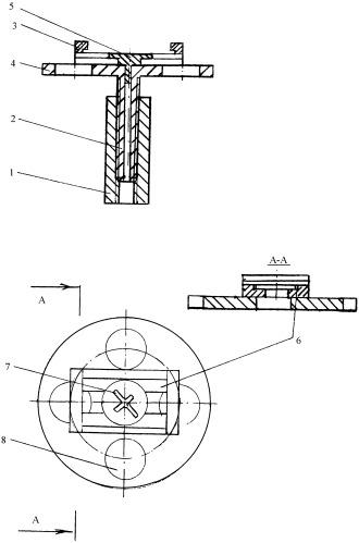 Устройство для установки и регулирования положения маяка