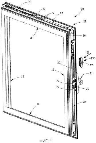 Способ установки вспомогательного элемента на дверной или оконной раме