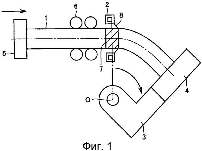 Сварной компонент, содержащий бесшовную изогнутую трубу и секции бесшовной прямой трубы, а также способы их производства