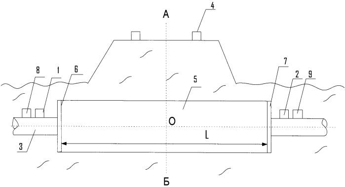 Система контроля технического состояния перехода магистрального трубопровода с устройством катодной защиты через дорогу