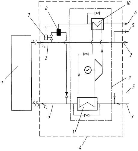 Способ работы открытой системы теплоснабжения
