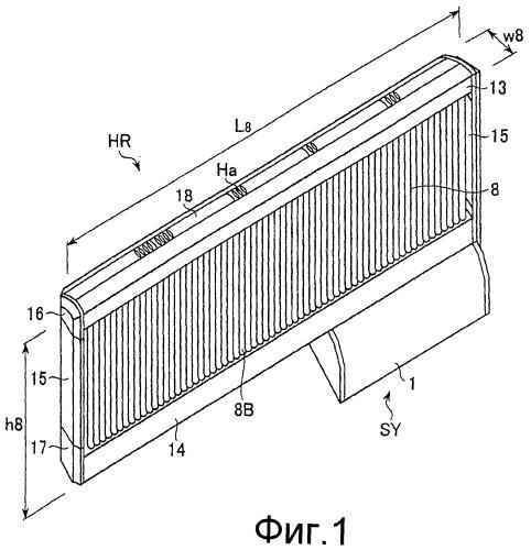 Радиатор для циркуляции горячей воды для отопления помещений