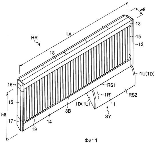 Коробка блока электронагревателя для радиатора комнатного отопления