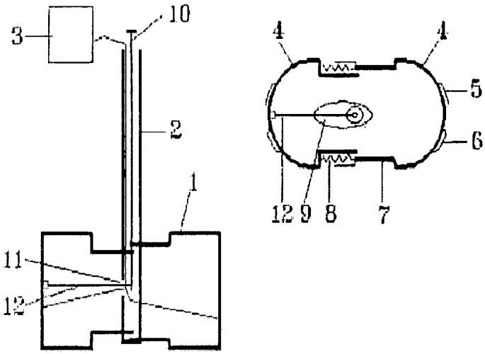 Устройство для измерения влажности горизонтов почвы