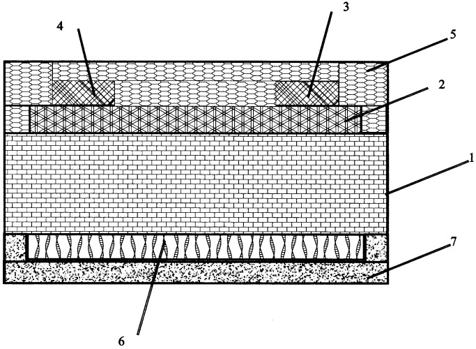 Высокотемпературная электрохимическая ячейка-сенсор и способ ее изготовления