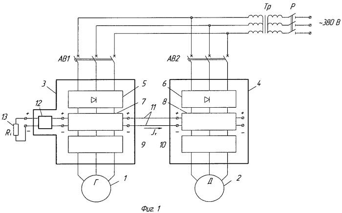 Способ испытания асинхронных электродвигателей методом их взаимной нагрузки