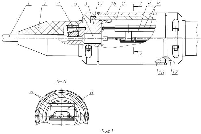 Соединительная муфта для подводного волоконно-оптического кабеля