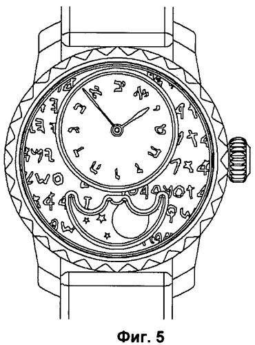 Устройство и способ индикации еврейских единиц времени (варианты)