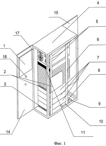 Система кондиционирования и распределения воздушных потоков в цод