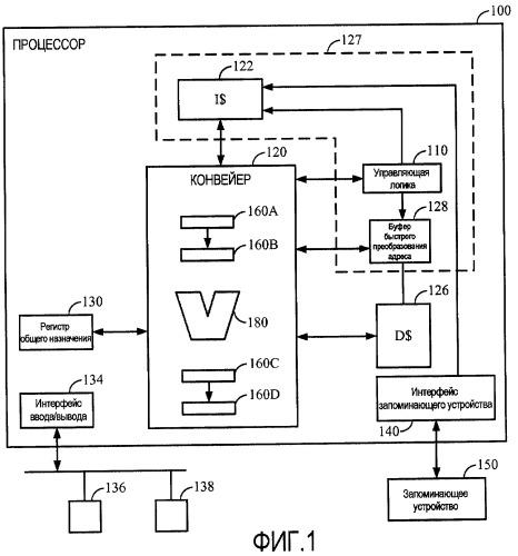Виртуально маркированный кэш команд с поведением физически маркированного
