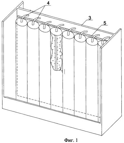 Электродный блок биполярного свинцового аккумулятора