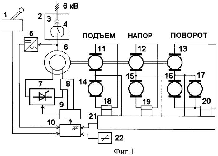 агрегата экскаватора