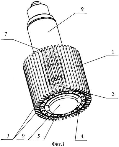 Светодиодный светильник с высокоэффективным конвекционным охлаждением