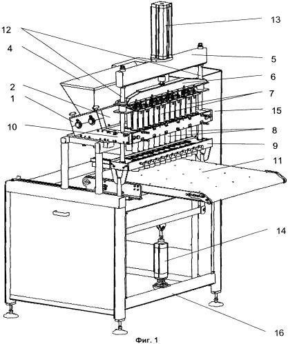 Делительно-закаточная машина для изготовления бараночных изделий