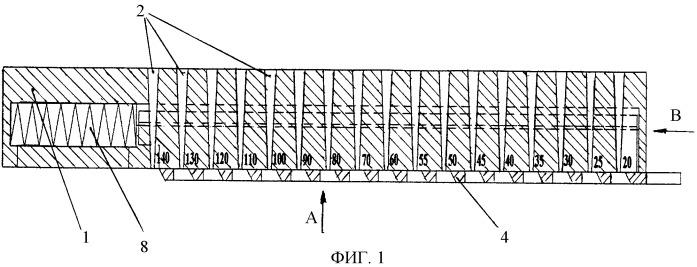 Устройство для калибровки гуттаперчевых штифтов