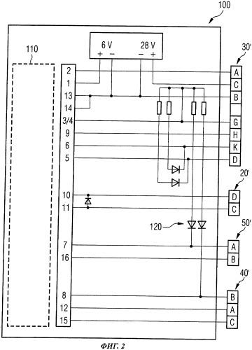 Испытательное устройство для проверки эксплуатационной надежности контура распределения кислорода в кабине экипажа