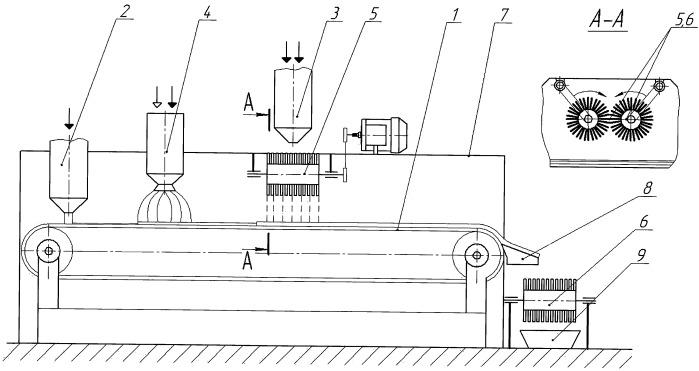 Агрегат для приготовления сыпучих и вязкосыпучих смесей