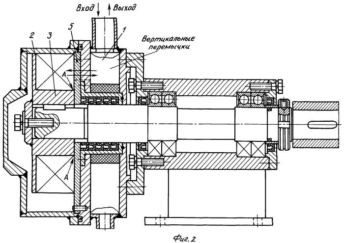 Роторный, универсальный, кавитационный генератор-диспергатор