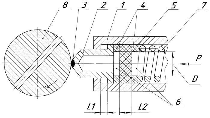 Инструмент для выглаживания прерывистых поверхностей