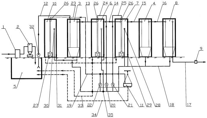 Способ и установка для аэробной биологической очистки сточных вод и комплексное органоминеральное удобрение, полученное на их основе