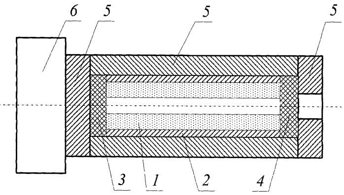 Способ изготовления трубы из стеклометаллокомпозита