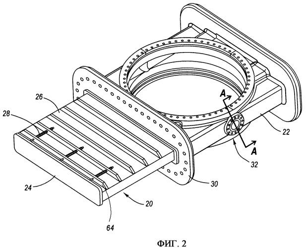 Клапан и система дросселирования нижней крышки коксового барабана