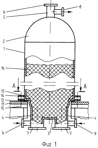 Реактор для топливного кокса