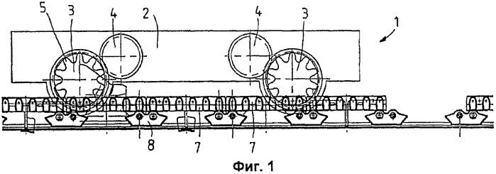 Приводной узел барабанного горного комбайна и направляющий башмак для него