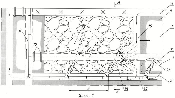 Способ дегазации выработанного пространства