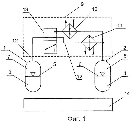 Способ преобразования тепла в гидравлическую энергию и устройство для его осуществления