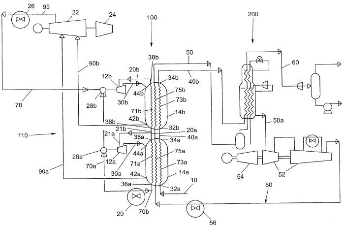 Способ для сжижения потока углеводородов и устройство для его осуществления