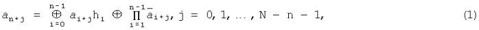 Рекурсивная кодовая шкала