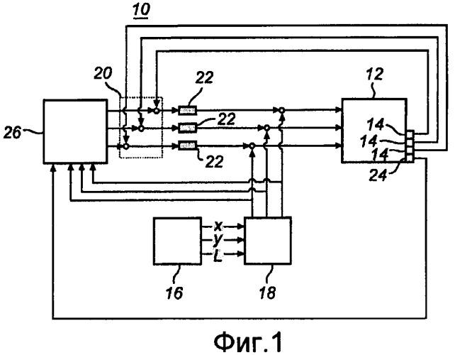 Система и способ для управления светильником сид