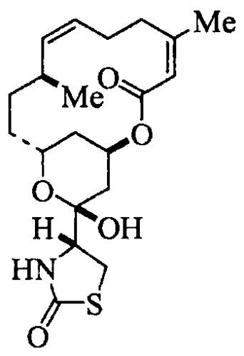 Фармацевтические препаративные формы латрункулина