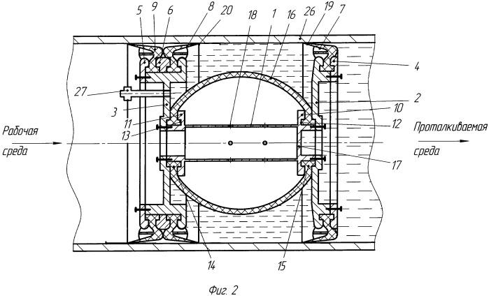 Устройство для очистки внутренней поверхности трубопровода