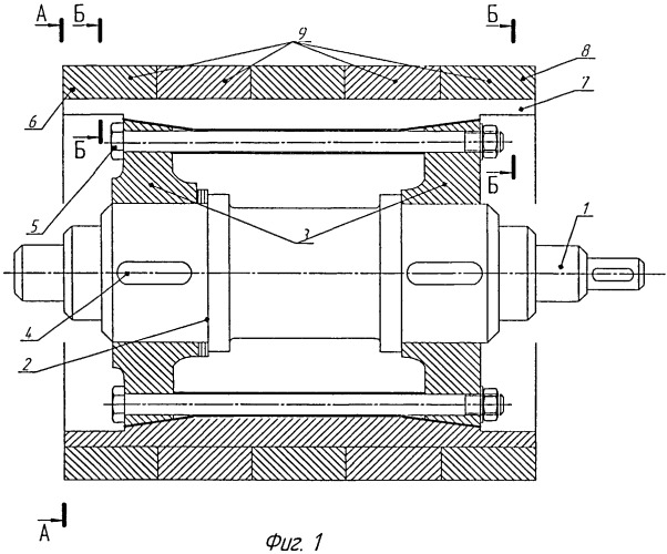 Способ изготовления составного валка