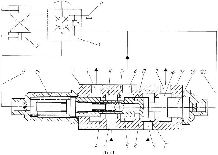 Приоритетный клапан рулевого механизма транспортного средства