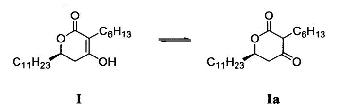 Способ получения (6r)-3-гексил-4-гидрокси-6-ундецил-5,6-дигидропиран-2-она и промежуточного соединения, применяемого в данном способе