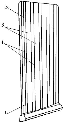 Способ получения наплавленного покрытия на пере лопатки турбомашины