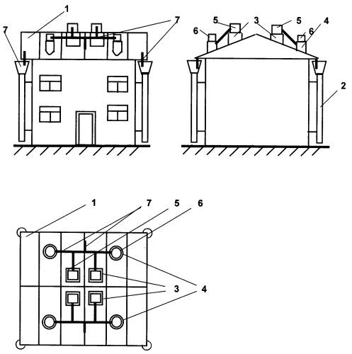 Система предотвращения образования ледяных наростов на металлических крышах