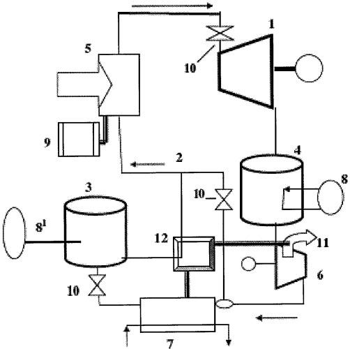Энергоаккумулирующая установка