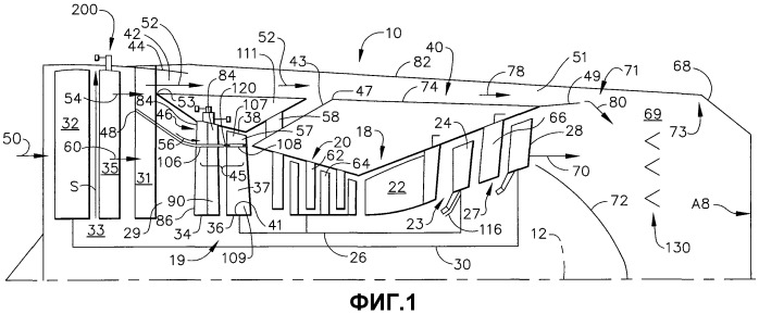 Турбовентиляторный газотурбинный двигатель с регулируемыми вентиляторными выходными направляющими лопатками (варианты)