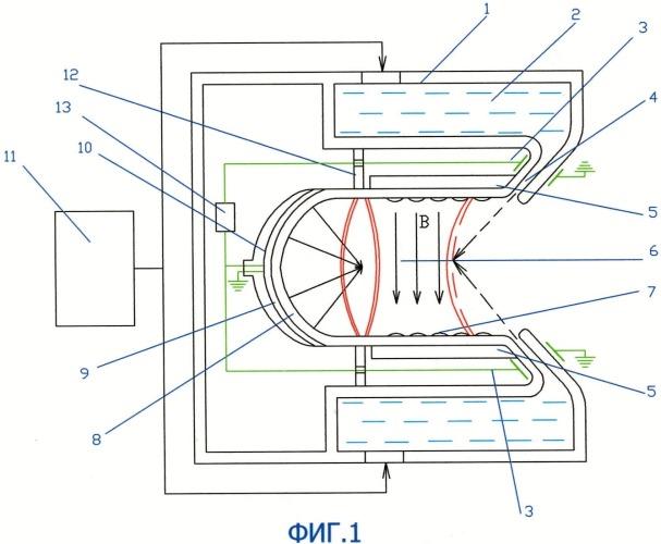 Пульсирующий детонационный двигатель