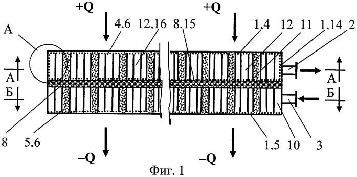 Мультифитильный парогенератор-конденсатор