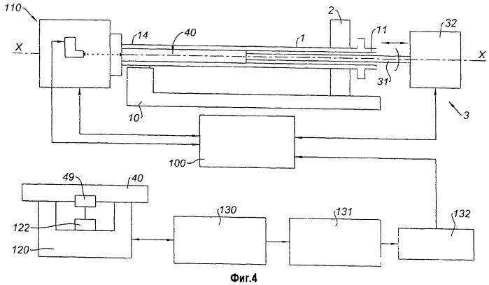 Устройство измерения внутренних размеров полого вала, в частности, авиационного газотурбинного двигателя