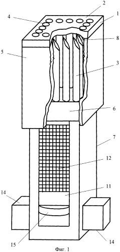Держатель образца мягкой биологической ткани к микротому
