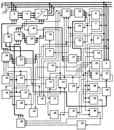 Способ повышения качества и эффективности использования электроэнергии в n-фазной системе энергоснабжения (вариант 4)