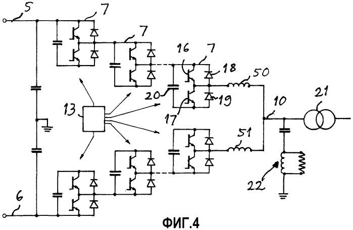 Способ управления преобразователем источника напряжения и устройство преобразования напряжения